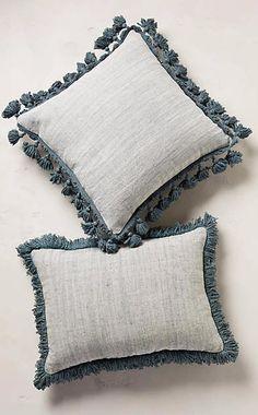 Falling Fringe Pillow #anthrofave