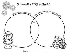 Engaging lessons and activities for Snowmen at Christmas