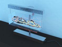 3D design of light object / Visualization