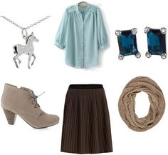 Geek Chic: Fashion Inspired by The Princess Bride – College Fashion Replace shoes with grey flats