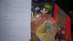 #Histoiresàécrire  #Productiond'écrits #Pédagogie #Éducation Bus, Pageants, Drawing Drawing