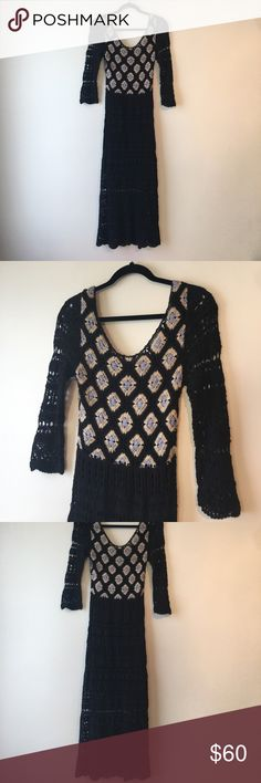 NWOT FREE PEOPLE CROCHET MAXI SIZE SMALL Brand new size small Free People Dresses Maxi