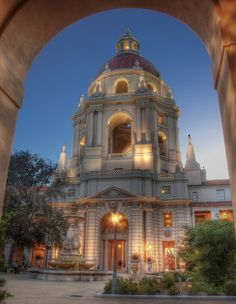 Pasadena City Hall by magnetic lobster, via Flickr