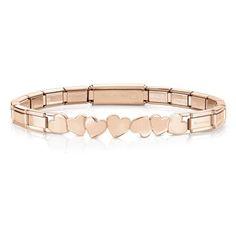 Discover women's and men's bracelets range on the official Nomination Italy online shop. Unique Bracelets, Colorful Bracelets, Bracelets For Men, Nomination Bracelet, Nomination Charms, Gold Heart Bracelet, Personalized Bracelets, Gold Price, Bracelet Sizes