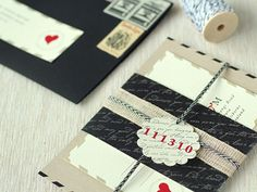 a sweet bundle of romance inspired by old fashioned love letters.