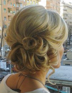 Rome wedding hair Italy by Janita Helova http://www.hairmakeupnails-rome.com/