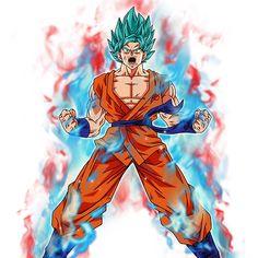 goku super saiyan blue kaioken by bardocksonic entertainment