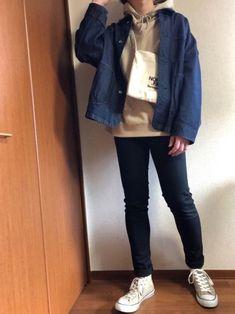 どうも✋もっさんです😁 コーデを見ていただきとても嬉しいです!!!  本日は WEGO カラービッ Wego, Rain Jacket, Windbreaker, Jackets, How To Wear, Fashion, Moda, Fasion, Raincoat