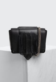 Claudie Pierlot AZTEQUE BIS, available in our official e-shop. Luxury Purses, Luxury Bags, Black Mode, Next Shoes, Clutch Purse, Wallets For Women, Fashion Bags, Leather Bag, Purses And Bags