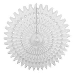 Rosace ajourée – 53cm – Blanche