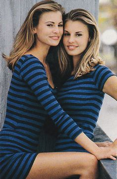 justseventeen:   January 1993. 'Niki and Krissy. This year's models.'