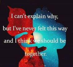 Finn & Flame Princess Adventure Time Quote.  Ok, for real, Adventure Time just broke my heart because Finn & FP broke up.. Nuuuuu!!