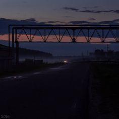 Дорога на закате  #дорога #закат #вечер #sunset #road #sonya3000 #37ru