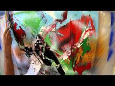 Learn To Paint Abstract Painting While Searching For Direction (HD). By Jan van Oort - YouTube