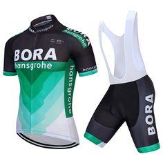 fa79f1e29 Kaufen 2018 neueste Team BORA Radfahren Jersey Sets Bike Shorts Set Ropa  Ciclismo Männer Sommer Pro Team Fahrrad Tragen Maillot Culotte