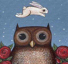 FREE 2013 Owl calendar...so adorable!