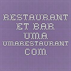 Restaurant et Bar UMA umarestaurant.com - japonais/péruvien = Nikkei