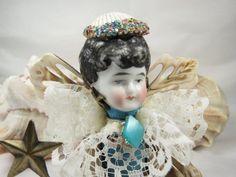 Angel Susie Sells Seashells Assemblage Art Doll by ferrytalesgifts