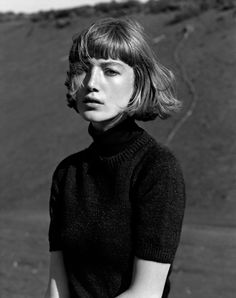 "lesthetiquedelinventaire: "" margaret howell by alasdair mclellan "" Messy Hairstyles, Pretty Hairstyles, Basic Hairstyles, Hair Day, New Hair, Margaret Howell, Face Hair, Grunge Hair, Hair Designs"