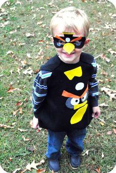 How To Make Angry Birds Costumes for Halloween #angrybirds | Go Graham Go: Parenting | Recipes | DIY | Brand Ambassador | Product Reviews | NC Mom Blog