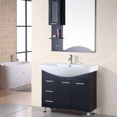 "Design Element 40"" Sierra Single Sink Vanity Set - DEC026"