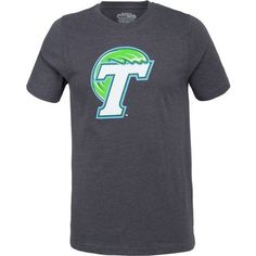 Colosseum Athletics Men's Tulane University Logo Short Sleeve T-shirt (Charcoal, Size Medium) - NCAA Licensed Product, NCAA Men's Tops at Academy S...