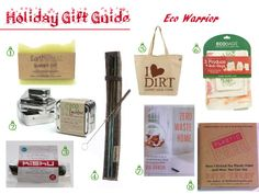 Eco Warrior - Ma's Green Living 2013 Eco Friendly Holiday Christmas Gift Guides