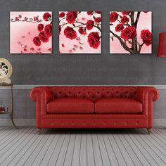 Купить товарСделай сам DMC цветок триптих розы рисунок вышивки крестом счетный 3D вышивка комплект домашнего декора в наличии новое поступление в категории Cross-Stitchна AliExpress.