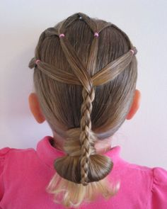 Simple Braided Hairstyles For Toddlers