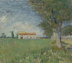 All sizes | Vincent van Gogh - Farmhouse in a Wheatfield [1888] | Flickr - Photo Sharing!