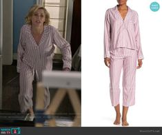 Claire Dunphy Fashion on Modern Family Modern Family Episodes, Julie Bowen, Striped Pyjamas, Other Outfits, Pajama Set, Claire, Uggs, Comfy, Fashion Outfits