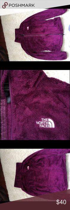 women's northface fleece jacket plum-colored small women's northface, only worn once North Face Jackets & Coats