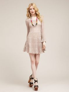 Free People Cotton Belle Swit Dress