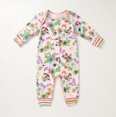 Madame Butterfly Ruffle Coverall