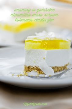 Pina Colada Cheesecake without baking
