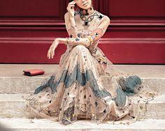 Paris Streets Valentino Dream dress and Chriselle Lim - Jana Williams Photography Blog