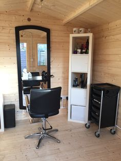 "Emma Vietch turned her Log Cabin into a hair salon to free up some space in her house and hasn't looked back since. ""After having my salon in my spare bedroom for the past 2 years. We decided to buy a log cabin instead of moving and what a fab idea it's been."" If you like Emma's Log Cabin, and think it should win, vote on our website now!"