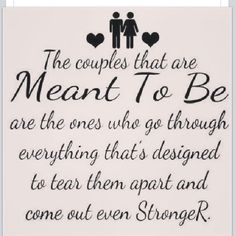 marriage more sayings meant to be life quotes truth so true couple ...