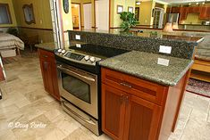 kitchen island with built in oven | Kitchen Island has Stove Top and Oven