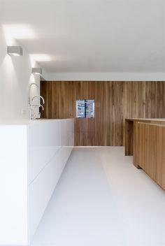 Kitchen inside the Kaan House by Claus en Kaan Architecten. Photo by dutch photographer Sebastian van Damme.