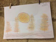 Nos visitó Adriana Cortés de 8 años de Sevilla ayer, 16 de octubre de 2019, y nos regaló este dibujo del otoño Thing 1, Vintage World Maps, Shells, Sevilla
