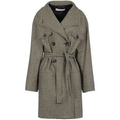MAURO GRIFONI Coat ($348) ❤ liked on Polyvore