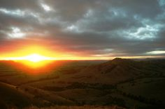 Sunrise today at Wattle Grove Bed and Breakfast from The Ridge - - Band B, Open Fires, Winter Season, Bed And Breakfast, Red Wine, Victoria, Sunset, Outdoor