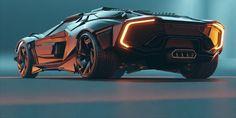 Cool Sports Cars, Sport Cars, Cool Cars, Future Concept Cars, Future Car, Alpha Romeo, Bugatti, Lamborghini, Car Design Sketch