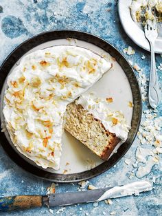 """Banana and Coconut 3 Milk Cake in my latest ... Home Cookin' !!! """"Tell Me What I Gotta Do ... To Get To Your House"""".... in Costa Rica, for Some """"Sweet Treats"""" Made Healthy"""
