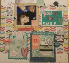 #scrapbooking join me at youtube @tuesdae hubbard or insta@ truelaine