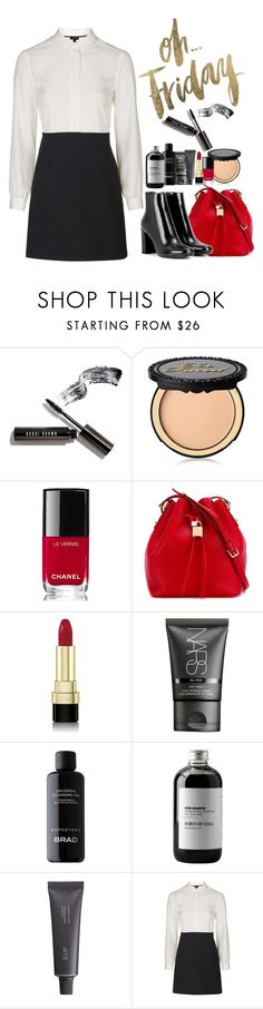 """Oh Friday"" by fra3 ❤ liked on Polyvore featuring Bobbi Brown Cosmetics, Too Faced Cosmetics, Chanel, Dolce&Gabbana, NARS Cosmetics, BRAD Biophotonic Skin Care, Sort of Coal, Bite, Topshop and Yves Saint Laurent"