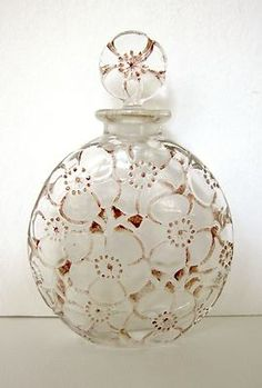 "1922 Lalique D'Orsay ""LE LYS"" Perfume Bottle Scarce 
