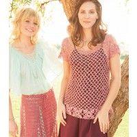 Topanga Crocheted Tunic Pattern   InterweaveStore.com