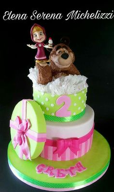 Torte Cake, My Works, Cake Toppers, Birthday Cake, Children, Desserts, Cakes, Tv, Food